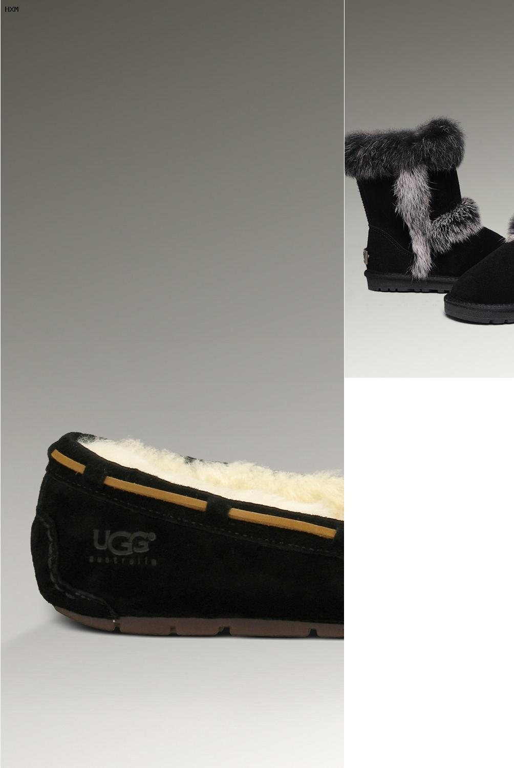outfit botas ugg grises