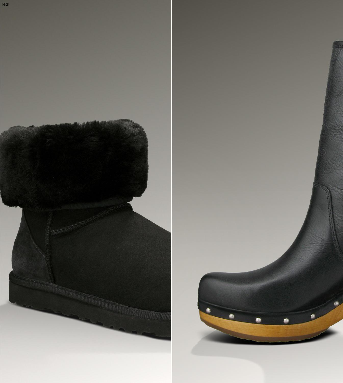 ugg botas de nieve